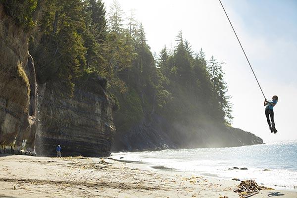 China Beach Vancouver Island Campground