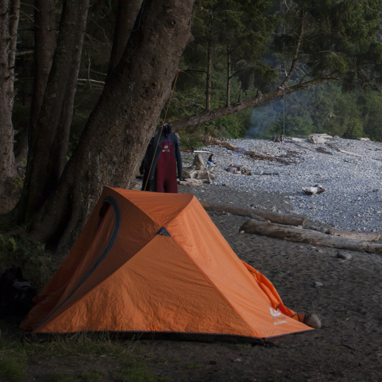 Juan de Fuca – Wilderness Camping